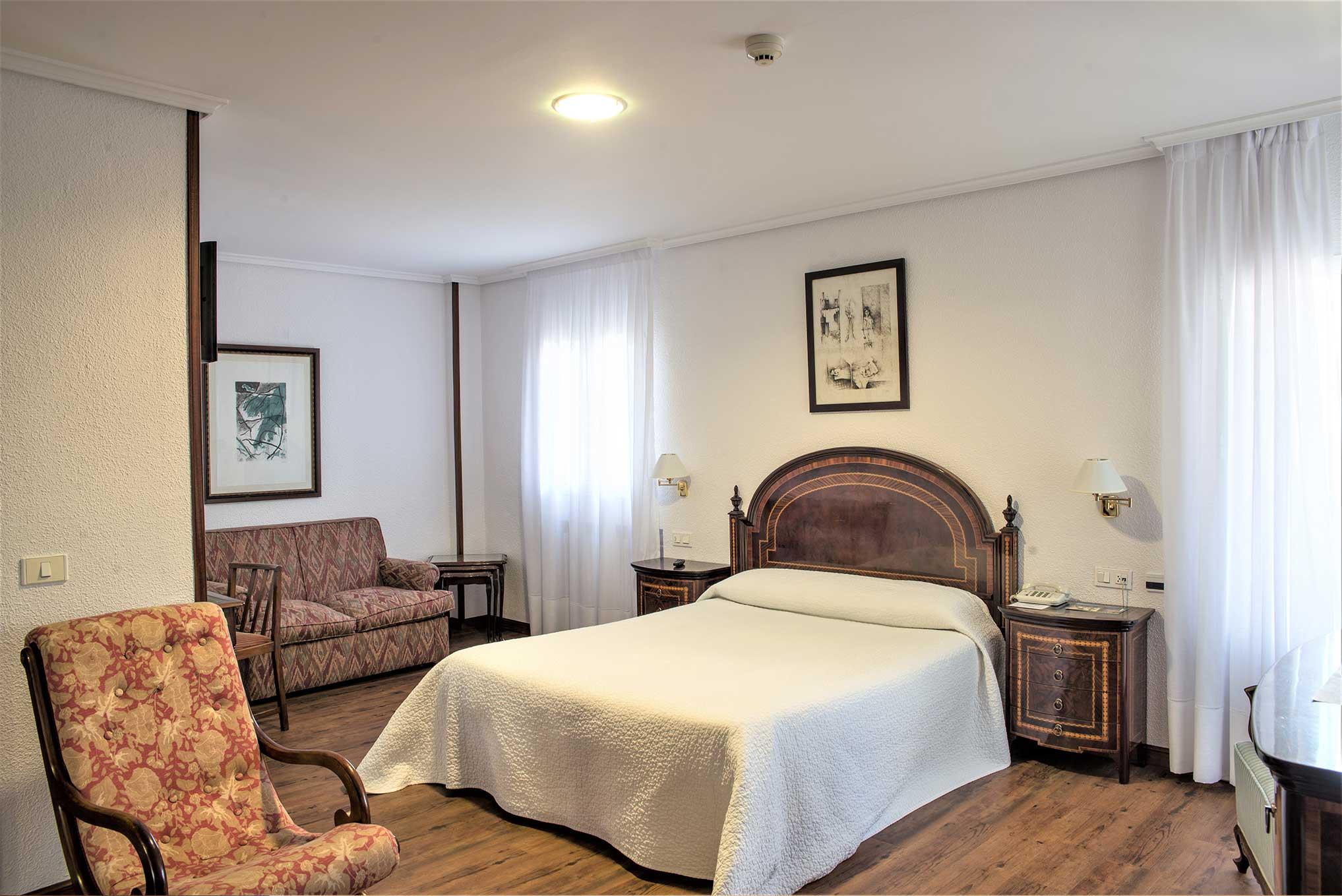 La habitación Doble Balcón Superior