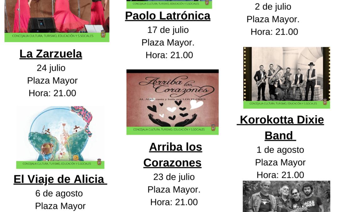 """""""Santillana al Aire"""", Programación de actividades al aire libre para este verano 2021 en Santillana del Mar."""